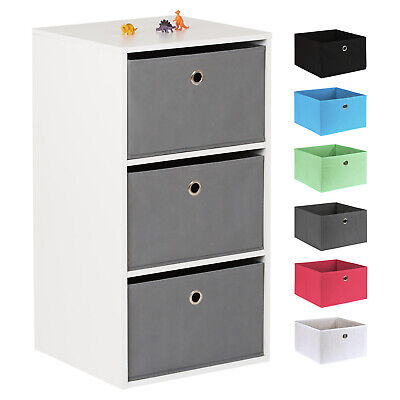 Hartleys Cube Kids Bedroom Toy/Games Play Storage Unit &  Drawers For Boys Girls • 29.99£