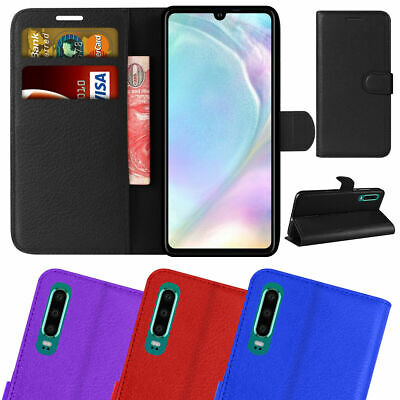 For Huawei P30 Pro/Lite Premium Leather Wallet Case Magnetic Closure Flip Cover • 2.95£