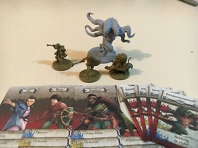 AU51.95 • Buy Zombicide Horde Box, 3 Stranger Things Characters. Zee Lorentz Billy Abomination