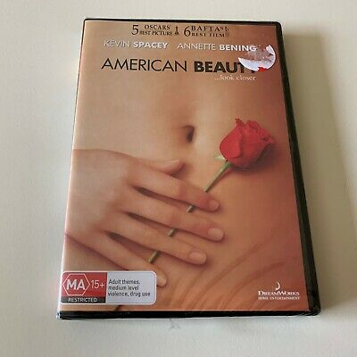 AU12.50 • Buy American Beauty DVD, Kevin Spacey, Mena Suvari, Drama Thriller, New In Plastic