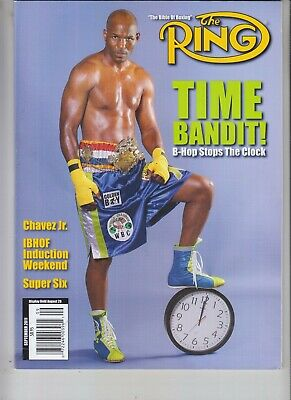 $9.75 • Buy Bernard Hopkins Ring Magazine September 2011 No Label