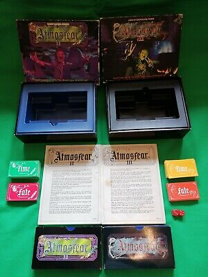 Atmosfear Vintage Board Game Expansion 1 Zombie & 2 Witch VHS Version Complete  • 17£