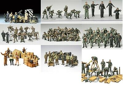 Tamiya Military Figures 1:48 Scale Choice Of Kits For Wargames, Dioramas • 17.99£