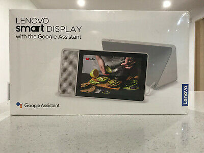 AU150 • Buy Lenovo 8 Inch Display Tablet Smart Speaker W Google Assistant Grey - New