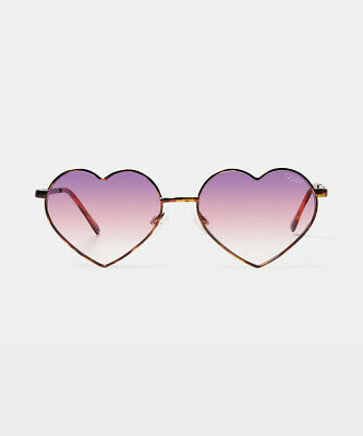 AU65 • Buy Quay Eyewear Heartbreaker Sunglasses Tortoise/purple