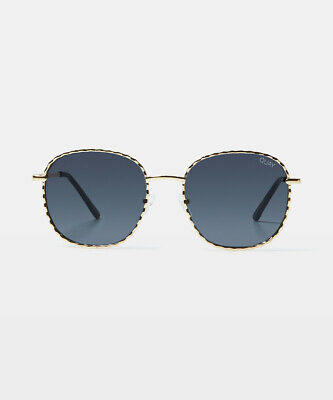AU75 • Buy Quay Eyewear Jezabell Twist Sunglasses Gold/smoke
