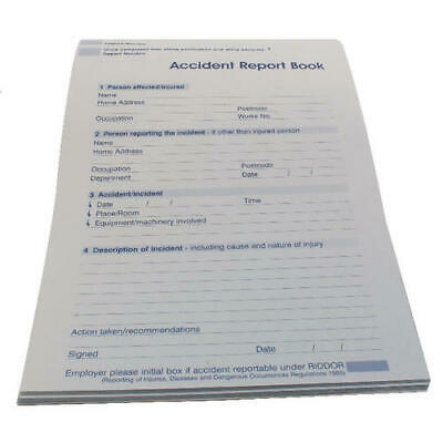 £3.95 • Buy Wallace Cameron Accident Report Book 5401015