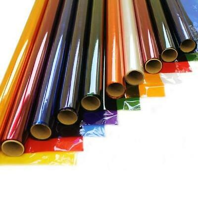 Coloured Cellophane Film Roll Ideal For Crafts, Gifts, Florist Wrap 4.5mtr 50cm • 5.81£