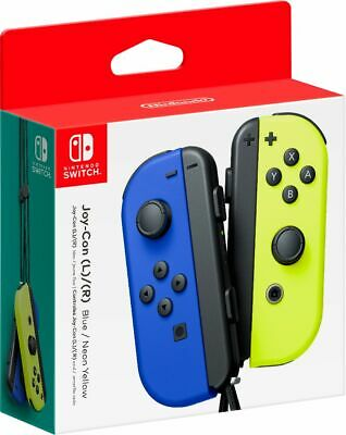 $79.99 • Buy Joy-Con (L/R) Wireless Controllers For Nintendo Switch - Blue/Neon Yellow