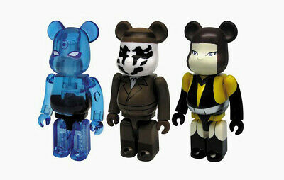 $99.99 • Buy Watchmen Bearbrick 100% 3 Pack Medicom Figures Be@rbrick Limited DC Comics Rare