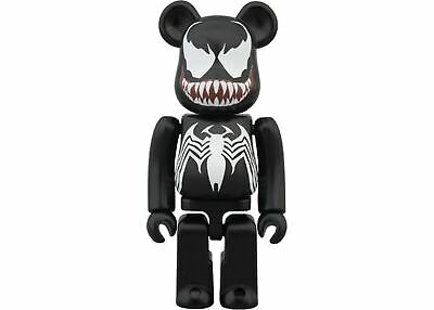 $159.99 • Buy Venom Bearbrick 100% Black Marvel The Amazing Spiderman Medicom Be@rbrick Rare