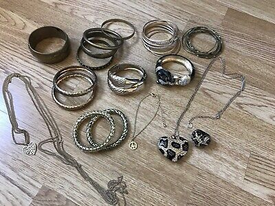 Gold Colour Costume Jewellery Bundle - Many River Island Pieces • 7£