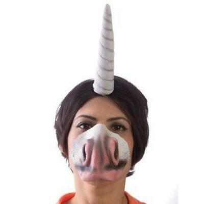 AU23.20 • Buy Unicorn Horn Headband And Nose Set