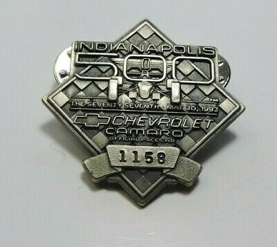 $25 • Buy Indy 500 Silver Pit Badge 1993 #1158