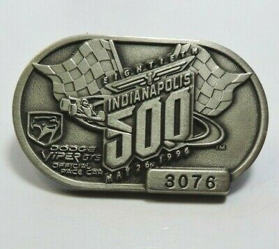 $25 • Buy Indy 500 Silver Pit Badge 1996 #3076