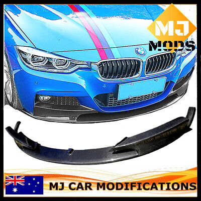 AU550 • Buy Carbon Fibre Front Lip For BMW【F30/F31 316/318/320/328/330/335/340 M SPORT】【MP】