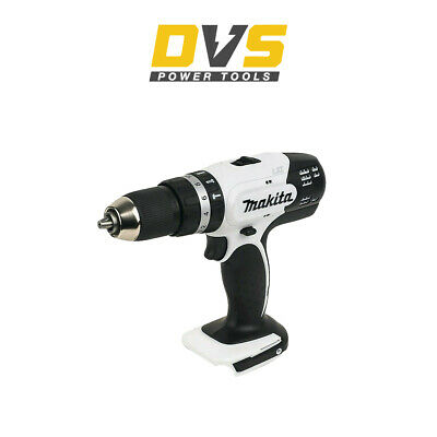 Makita DHP453ZW LXT 18v Cordless White Combi Drill Driver Body Only • 49.95£