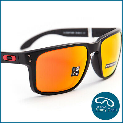 AU158 • Buy NEW Oakley Holbrook XL Matte Black Prizm Ruby (9417-04) Sunglasses