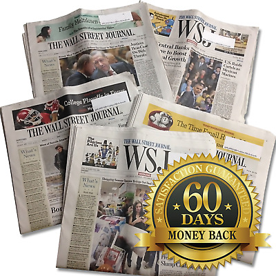 $129.95 • Buy Wall Street Journal 1-YEAR All Access Print And Digital Edition WSJ Subscription