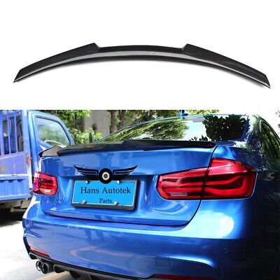 AU199.95 • Buy Full 100% Carbon Fiber Rear Trunk Spoiler M4 Style For BMW 3 Series F30 M3 F80