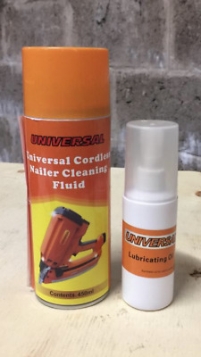 Gas Nail Gun Cleaner And Lubricating Oil • 16£