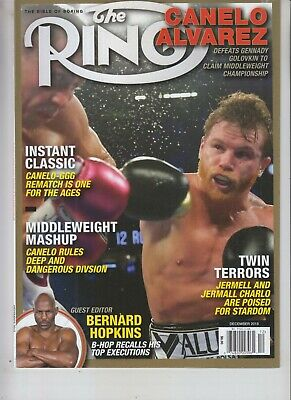 $9.75 • Buy Canelo Alvarez Ring Magazine Dec 2018 No Label