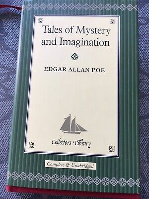Edgar Allan Poe Tales Of Mystery & Imagination  Book The Collectors Library • 6.99£