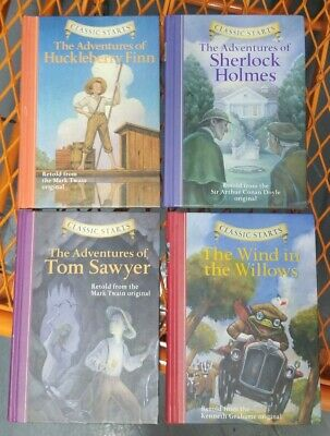$15 • Buy Classic Starts Sterling Children's Books Lot Of 4. All Hardcover