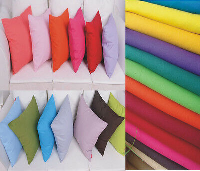 AU9 • Buy 100%Cotton Pillow Cushion Cover  40X40 45x45 50 X50 55x55 60x60 65X65 70X70 CM