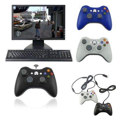 AU25.95 • Buy Wired / Wireless Game Controller Gamepad For Microsoft XBOX 360 Console Joypad