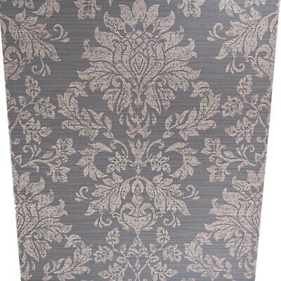 Arthouse Rose Gold Damask Charcoal Grey Heavy Textured Vinyl Feature Wallpaper  • 7.95£