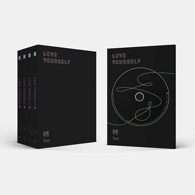 $16.50 • Buy BTS - LOVE YOURSELF 轉 Tear CD+Photocard+Poster+Free Gift