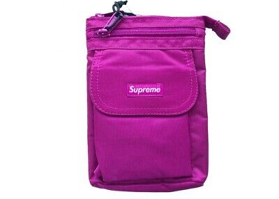 $ CDN116.10 • Buy Authentic Supreme Box Logo Bogo Shoulder Bag (FW19) Magenta Brand New