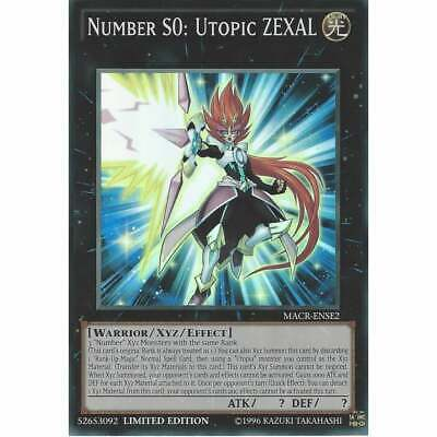 YuGiOh! MACR-ENSE2 Number S0: Utopic Zexal | Super Rare Card |  Limited Edition • 3.95£