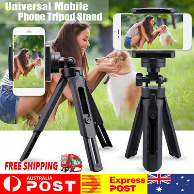 AU15.75 • Buy Universal Mobile Phone Tripod Stand Mount Holder Video Live Self-Timer