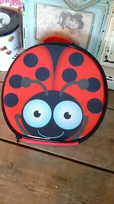 New Polar Gear Ladybird Lunch Bag Cooler Kids School Trips Food Drink Insulated • 8£