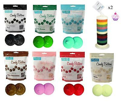 Candy Buttons Melts Cake Pops Sugarcraft Decoration Easy Microwaveable • 6.98£
