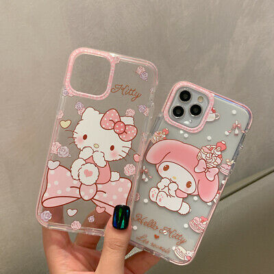 £4.99 • Buy Cute Hello Kitty Case For IPhone 12 Pro 11 XR X 8 7 Disney Cartoon Protect Cover