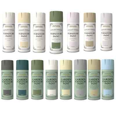 Rust-Oleum Chalky Or Garden Paint / Smooth Shabby Chic Furniture Spray Paint • 9.90£
