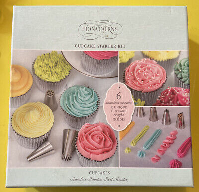 Fiona Cairns Cupcake Starter Kit With 6 Nozzles • 16£