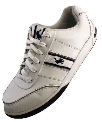 $22.95 • Buy $89 Polo Ralph Lauren Women's Size 8.5 White Sneakers Athletic Tennis Shoes