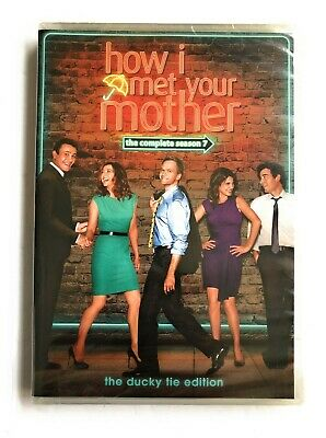 $10.13 • Buy How I Met Your Mother: Season 7 DVD, 2012, 3-Disc Set NEW SEALED