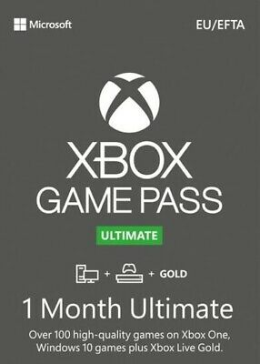 $ CDN5.03 • Buy Xbox Game Pass Ultimate + Live Gold 1 Month - INSTANT 24/7 & GLOBAL