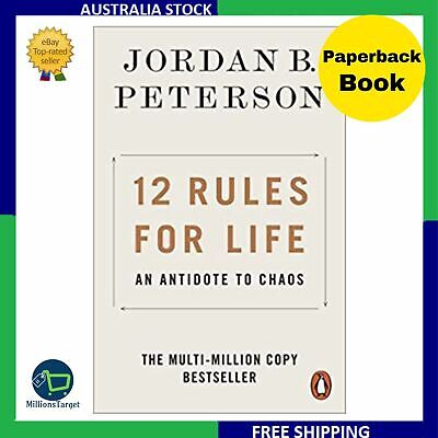 AU15.85 • Buy NEW 12 Rules For Life 2019 By Jordan B. Peterson Paperback Book | FREE SHIPPING