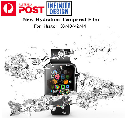 AU4.35 • Buy For Apple Watch IWatch Series 1 2 3 4 5 Full Screen Protector Film 38/40/42/44mm
