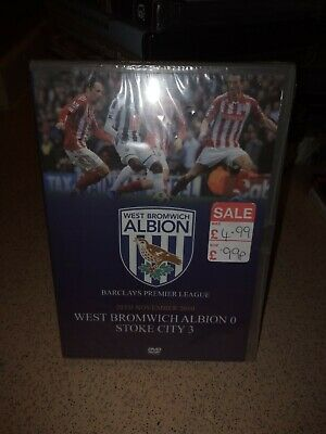West Bromwich Albion Vs Stoke City November 2010 DVD BNIP Rare • 23.99£