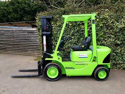£6850 • Buy Mitsubishi Diesel Forklift Truck/Full Free Lift Container Spec Mast 4.7 Meters