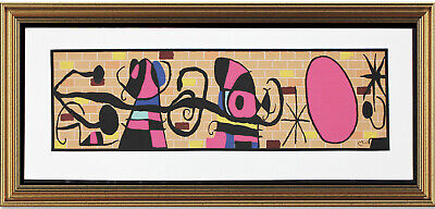 £47.80 • Buy Fine Joan Miro Signed & Not-Numbered  Moon And Sun   Lithograph Print (unframed)