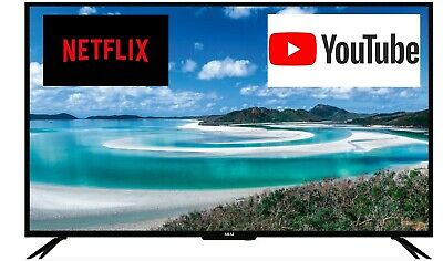 AU494.10 • Buy Akai 55-inch 4K UHD LED LCD Smart TV W/ USB, HDMI, NETFLIX, YOUTUBE AK5520UHDNF