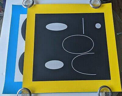 $1195 • Buy Vintage Pair Yaacov Agam Pop Art Serigraph Set Bout A Bout Hand Signed Numbered
